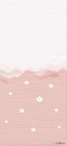 Cute Simple Wallpapers, Simple Iphone Wallpaper, Daisy Wallpaper, Vintage Flowers Wallpaper, Phone Wallpaper Images, Flower Background Wallpaper, Flower Phone Wallpaper, Soft Wallpaper, Iphone Wallpaper Tumblr Aesthetic