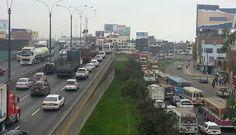 FOTOS: paro de transportistas no se sintió en Lima y tránsito casi no se vio afectado
