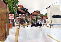 Whitechapel Street, Didsbury - Mixed media