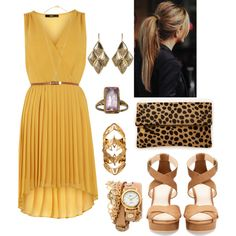 Canada Virtual :: We just do our best Clare Vivier, Amrita Singh, Henri Bendel, Oasis, Bear, My Style, Yellow, Polyvore, House