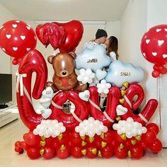 Balloon Arrangements, Balloon Centerpieces, Balloon Decorations Party, Valentine Decorations, Birthday Decorations, Balloon Shop, Balloon Gift, Balloon Garland, Valentines Balloons