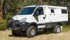 Iveco Daily 4x4 (Cabina simple) de 2015 carrozado por Earth Cruiser Overland Vehicles. 176 CV.