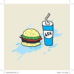 Burger & Soft Drink