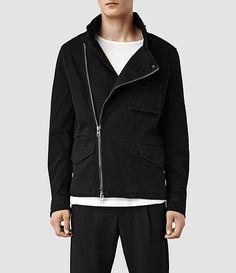 Mens Corston M65 Jacket (Black)   ALLSAINTS.com