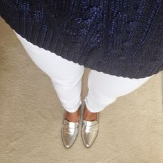Mission;Style  Next Silver Loafers