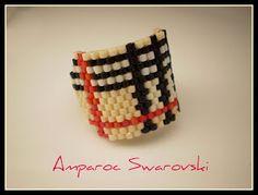 Artesanías Amparoc Swarovski: Anillos Marsa