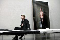 Michael Borremans and The Pendant Famous Artists, Art Studios, Artist At Work, Art World, Lovers Art, Book Art, Fine Art, Contemporary, Painting