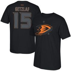 Eishockey NHL ANAHEIM DUCKS Ryan Getzlaf Nr 15 Eishockey Name Number T-Shirt black C Fanartikel