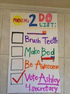 School campaign poster!   Kids school projects   Pinterest   See ...