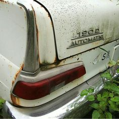 190d automatic mercedes fintail heckflosse Commercial Van, Abandoned Cars, Mercedes Benz Amg, Decay, Peugeot, Dream Cars, Classic Cars, Motorcycles, Vehicles