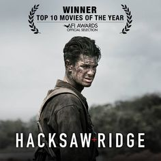 #HacksawRidge has been named one of the Top 10 Movies of The Year by The American Film Institute! Discover it in theaters today: http://lions.gt/hacksawridgetickets