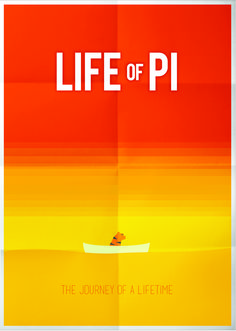 Pictogram Movie Poster - Life Of Pi - #movieposter #LifeOfPi #poster #pictogram