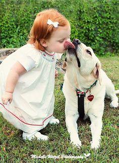 Little ones always taste good.....they always have crumbs around their mouths!