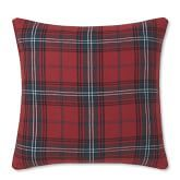 Classic Red Tartan Pillow Cover