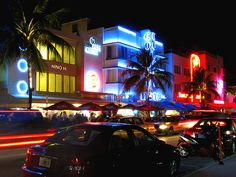 South Beach, Miami - Stay the night there before the drive to Key West Miami Art Deco, Sailing Adventures, Art Deco Buildings, South Beach Miami, Stay The Night, Oh The Places You'll Go, Travel Around The World, Vacation Spots, Beautiful Beaches