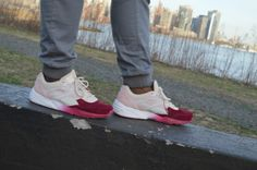 The Ronnie Fieg X Puma R698 is a gorgeous sneaker! We'll be turning heads all Spring/Summer. View more photos at www.identicalfly.com  #Kith #Puma #R698 #Mensfashion #Footwear #Sneakers