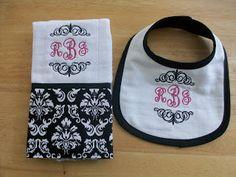Cooda's Corner: Baby Shower Gift Set Hooded Towels, Bibs and Burps
