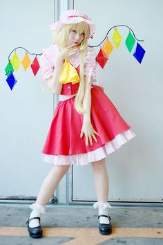 Touhou-Cosplay-Fladre-Scarlet