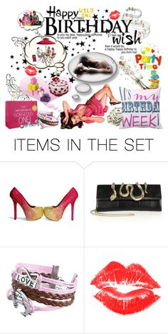 """Its my birthday week ;))))"" by mrkyblu ❤ liked on Polyvore featuring art"