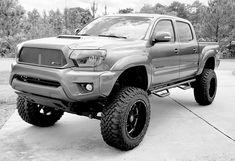 Toyota Trucks, Lifted Trucks, Toyota Tacoma 4x4, Jeep Suv, Monster Trucks, Tacos, Ideas, Truck Lift Kits, Toyota Cars