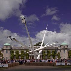 Gerry+Judah+unveils+enormous+spiked+sculpture+for+Goodwood