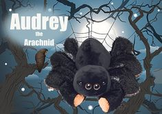 Audrey the Arachnid Scentsy Buddy Scentsy Buddies https://erinmariesor.scentsy.us This is my work :)