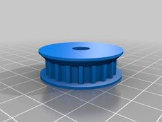 Z driven pulley with rims by MBC 3d Printer Models, Pulley, Cable Machine, Snail