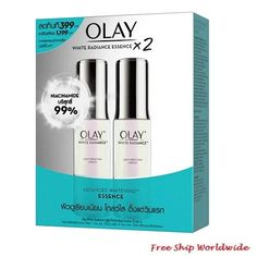 Olay White Radiance Light Perfecting Essence 30ml Pack 2 Lighten Skin Tone, Olay, How To Know, Whitening, Packing, Bag Packaging