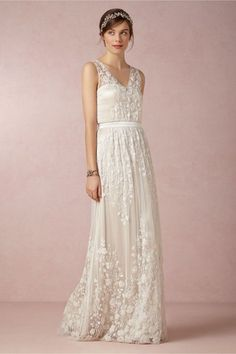 Sian Wedding Dress at BHLDN #Wedding