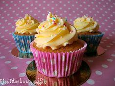 Miss Blueberrymuffin: Verlockende Vanille-Cupcakes