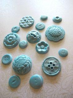 Ceramic button ideas