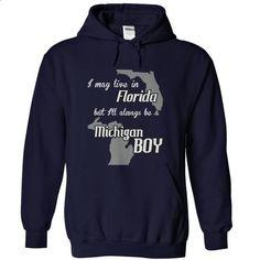 boy michigan florida fun - #shirt design #tshirt text. CHECK PRICE => https://www.sunfrog.com/LifeStyle/boy-michigan-florida-fun-NavyBlue-Hoodie.html?68278