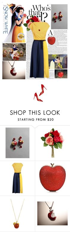 """""""Who's that girl? Snow White!"""" by cocochanel10 ❤ liked on Polyvore featuring Dolce&Gabbana, Vionnet, Lulu Townsend, Disney, Gianvito Rossi, women's clothing, women's fashion, women, female and woman"""