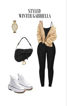 Baddie Outfits Casual, Casual Fall Outfits, Winter Fashion Outfits, Look Fashion, Stylish Outfits, Swag Outfits For Girls, Chill Outfits, Cute Swag Outfits, Couple Outfits