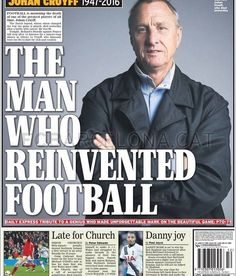 Resumen de prensa posterior a la muerte de Johan Cruyff   FC Barcelona