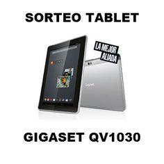 Sorteo Tablet de Gigaset QV1030 Phone, Prize Draw, Social Networks, Display, Blue Prints, Telephone, Mobile Phones