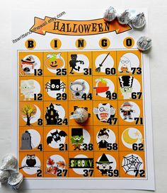 25 Unique Halloween Bingo Game 25 Sheets by ItsWrittenOnTheWall