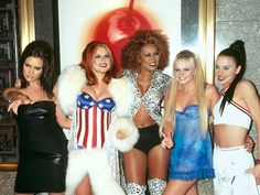 Introducing the 25 most memorable fashion moments of the '90s: The Spice Girls (1995)