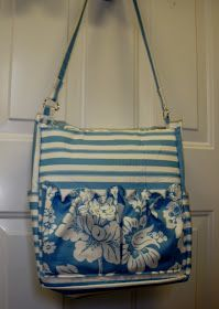Morning by Morning Productions: Messenger Bag Tutorial - Part 1 Diaper Bag Tutorials, Diaper Bag Patterns, Fabric Bags, Sew Bags, Tote Bags, Pouch Pattern, Baby Accessories, Handmade Bags, Clutch Bag