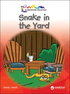 $3.95 Snake in the Yard - grade Level 1: When a girl sees a snake in her backyard, the family looks all over to find it.