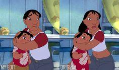 Lilo and Nani - GenderBender Disney Au, Disney And Dreamworks, Disney Love, Lilo And Nani, Disney Gender Swap, Disney Fanatic, Disney Beauty And The Beast, Lilo And Stitch, Equestria Girls