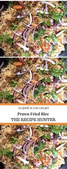 Learn how to make prawn fried rice that truly tastes as good as you can get!