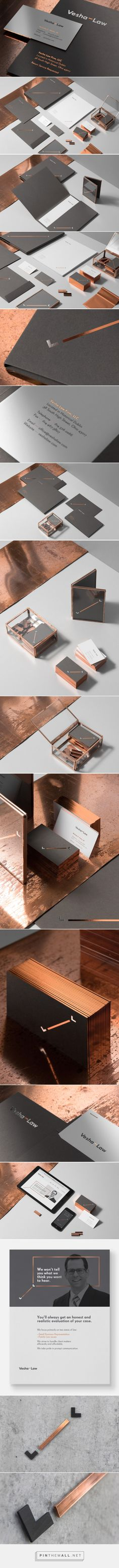 Identity Design Inspiration: Vesha Law by For Brands