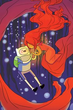 Corsetto and Sterling craft original Adventure Time graphic novel