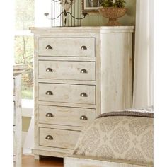 Progressive Furniture Willow 5 Drawer Chest - P608-14