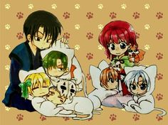 Akatsuki no Yona Kitties Nyan