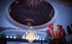 Award-winning Asian wedding photographer Surindera Studios specialises in luxury photography and videography for Sikh, Hindu and Muslim weddings across London. Sikh Wedding, Wedding Ceremony, Real Weddings, Indian Weddings, Photography And Videography, Tudor, Special Day, Classy, Ceiling Lights