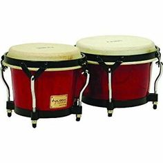 Tycoon Percussion - Tycoon Percussion 7 Inch & 8 1/2 Inch Supremo Series Bongos - Red Finish