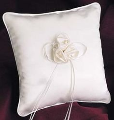 Simply Charming    Ring Pillow #timelesstreasure