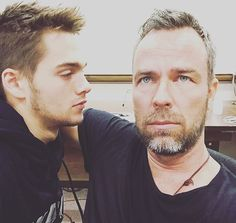 Teen Wolf: Dylan Sprayberry and JR Bourne (photo via J.R.'s Instagram)